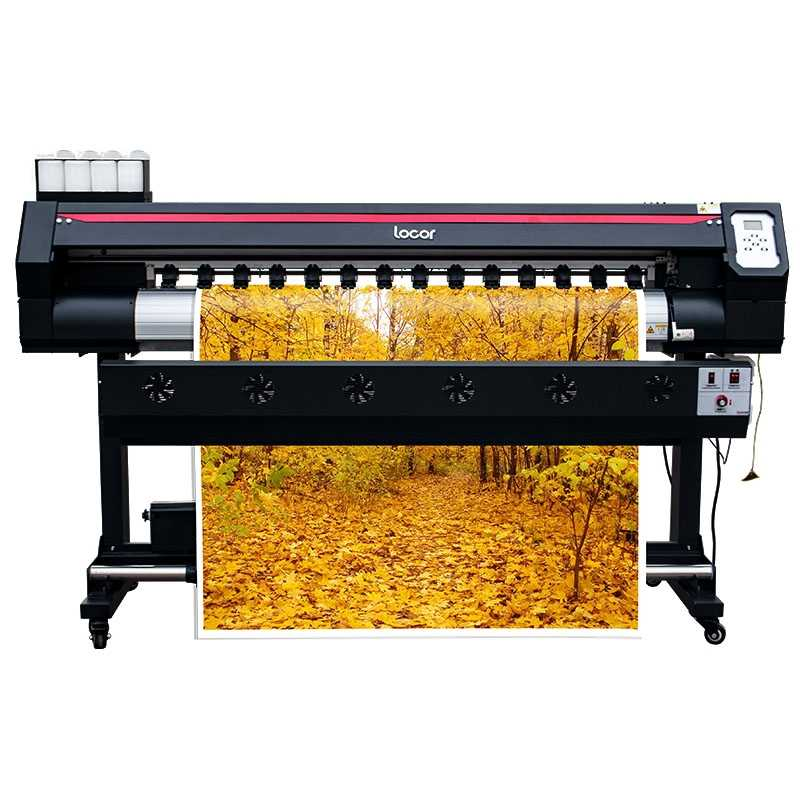 Digital Inkjet Printer Format Besar 1.6 M Mobil Vinyl Sticker Mesin Outdoor Eco Solvent Plotter Poster Mesin Cetak