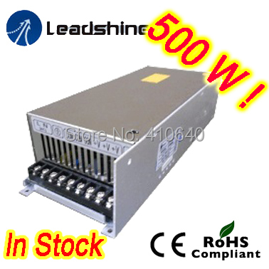 Leadshine RPS488-L 48 VDC / 10.5A Regulated Switching Power Supply with 85-132 VAC Input rps369 10 pieces per lot 36 vdc 9 7a regulated switching power supply with 85 132 176 265 vac input
