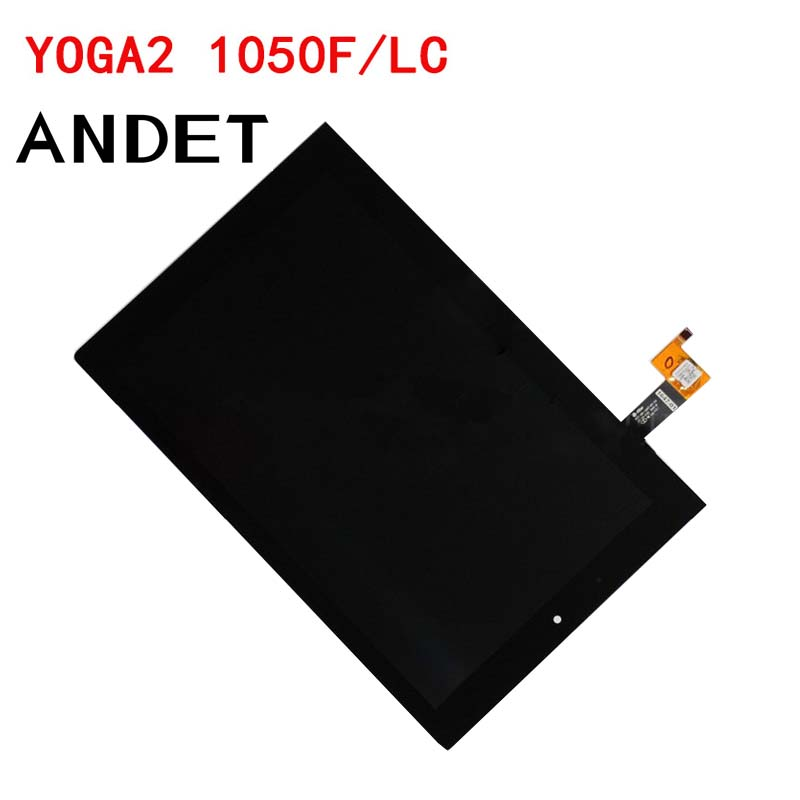 New original for Lenovo Yoga Tablet 2 1050 1050F 1050L Touch Digitizer Glass+LCD Display Assembly Parts V4 10 1 lcd touch tablet screen digitizer glass display assembly replacement pocketbook for lenovo yoga tablet 2 1050 1050l 1050f