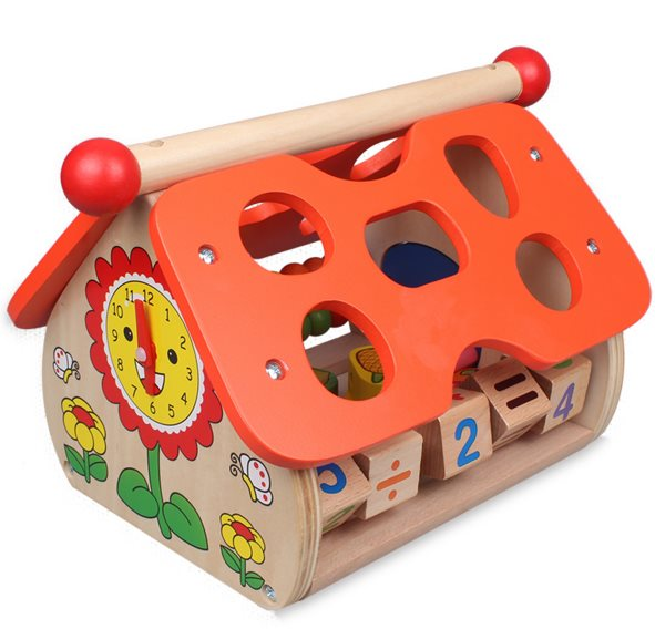 Fruits pour enfants sagesse maison enfance jouets éducatifs en bois jeu drôle enfants cadeau d'anniversaire - 5