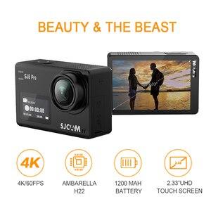 Image 3 - Oryginalna kamera akcji SJCAM SJ8 Pro 4K 60FPS pilot wifi kamera na kask Ambarella Chipset 4K @ 60FPS ultra hd sporty ekstremalne DV