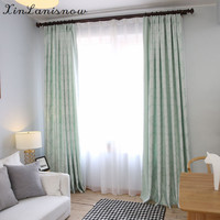 Deals On The New Slub Cotton Jacquard Window Shade Curtain For Living Dining Room Bedroom