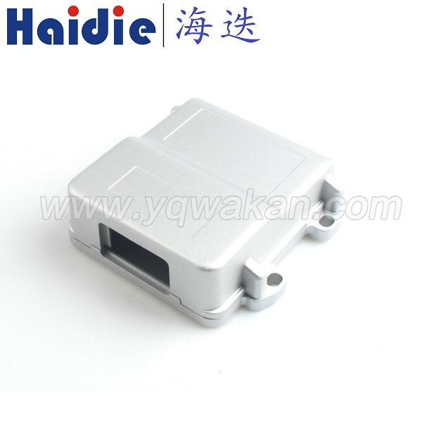 Free shipping 24p ECU generator controller 24pin Aluminum box for 24p male female FCI connector HCCPHPE24BKA90F