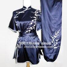 Customize Chinese wushu uniform Kungfu clothing Martial arts suit taichi clothes embroidery for men women boy children girl kids