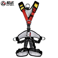 Xinda Adult Fullbody Climbing Safety Belt FullBody Belt Drop Downhill Protection Belt for Mountaineering Climbing Hang upside