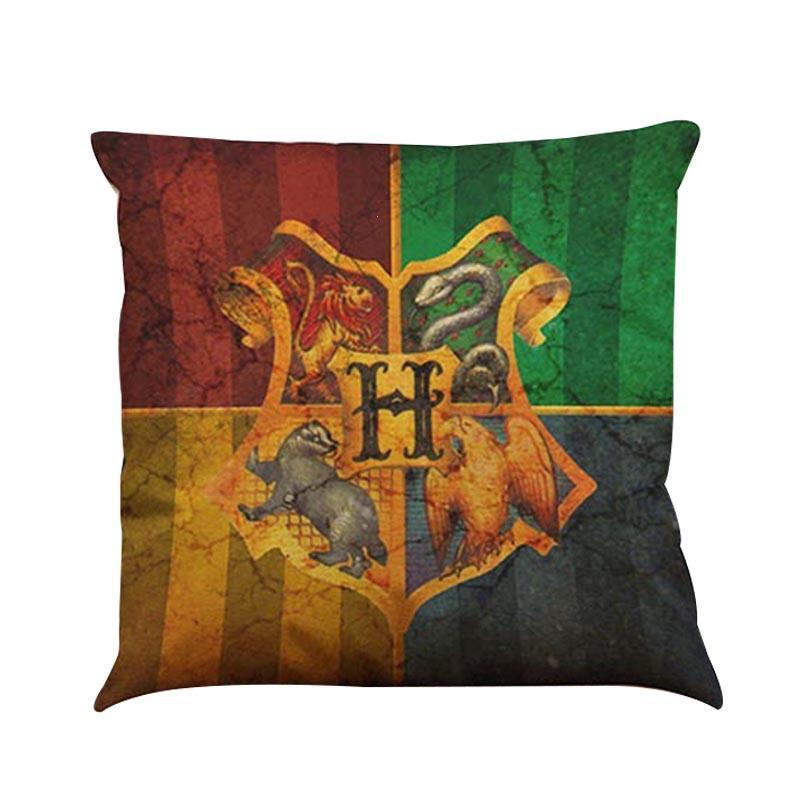 Cushion Cover 45x45cm Harry Potter Home Decorative Cushion Covers Car Seat Pillow Cover Cushion Covers For Sofa F