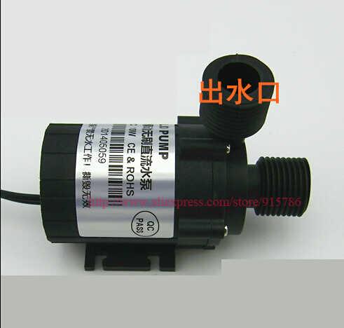 Mini Bomba de Água De 3905, DC12V brushless bomba Solar banho de Aquecimento mudo bomba de circulação de água 8L/min