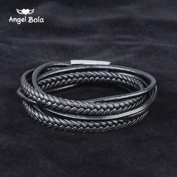 6b89f62dc280 Vnox mujeres hematita magnética pulsera de oro color de cadena de acero  inoxidable con piedra de circón caja gratis