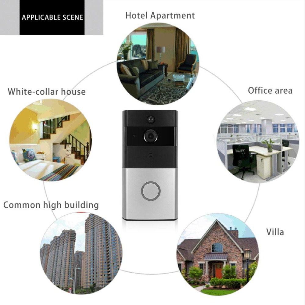 цена на Wireless Video Doorbell WIFI Remote Intercom Detection Electronic HD Visible Monitor Night Vision Intelligent Doorbell