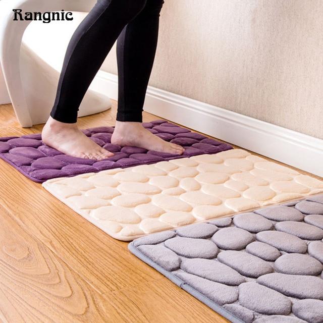 Designer Badematten 3d stein rutschfeste teppich wc matte zubehör designer badematte