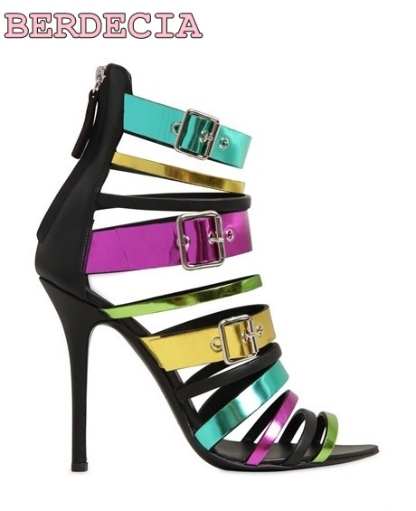 2017 new fashion color multi-band sandals stiletto heel sexy open toe shoes summer hot selling high quality high heel sandals 2017 hot selling women solid color narrow band open toe hollow out sandals summer fashion back zipper high thin heel dress pumps