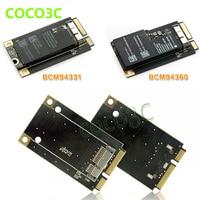 มินิPCIe PCI-eกับwifiไร้สาย3กรัมการ์ดเครือข่ายBCM94360CD/BCM94331CDโมดูลบลูทูธ4.0สำหรับmacbook Pro/