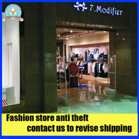 Fashion Store Acrylic Eas Security Alarm System Mono AM 58Khz Eas System Sound And Light Anti