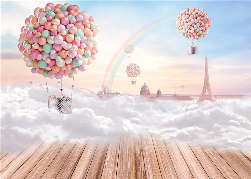 Aliexpress.com : Buy Balloons Photography Backdrops ...