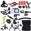 Go pro hero 5 Accessories Set with 45 meters Waterproof Diving Case Camera Bag LCD Screen Lens Protector for Gopro hero5