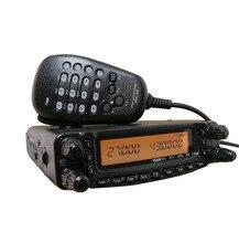 HYS TC-8900R walkie-talkie vehículo montado coche de Alta potencia Del Coche de radio de dos vías Del Coche VHF/UHF/HF de Radio con Micrófono DTMF