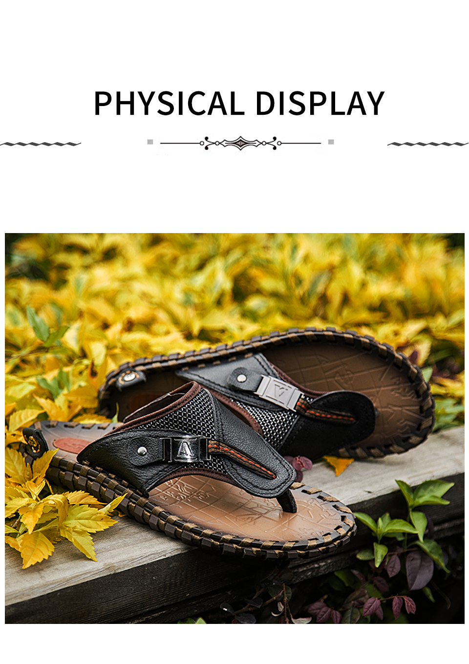HTB1sfI.LMHqK1RjSZFPq6AwapXa8 - VRYHEID Brand Men's Flip Flops Genuine Leather Luxury Slippers Beach Casual Sandals Summer for Men Fashion Shoes New Big Size 48