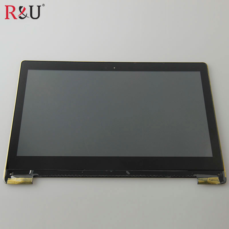 Used parts N133HSE-EA3 lcd display with touch screen panel digitizer assembly with frame For Asus Transformer Book TP300 TP300LA used parts lcd panel touch screen digitizer glass assembly with frame replacement parts for asus transformer book t300 t300la