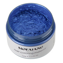 MOFAJANG Unisex DIY Hair Color Wax Mud Dye Cream Temporary Modeling 7 Colors Available