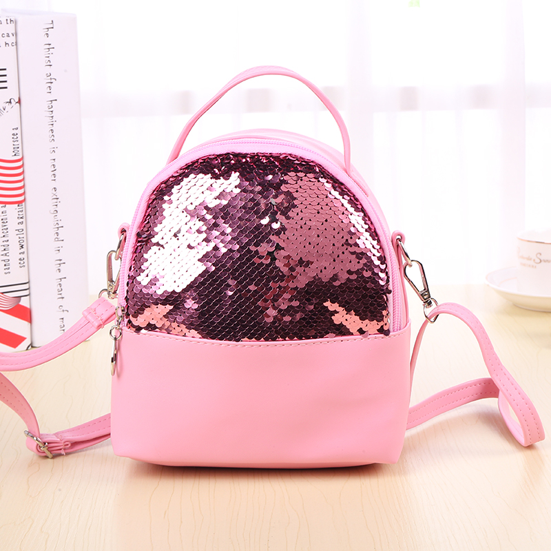 Women Shoulder Bags Female Purse and <font><b>handbags</b></font> <font><b>Kids</b></font> Girl crossbody bag Children Sequins Clutch Bag Woman