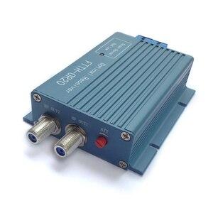 Image 3 - Alüminyum CATV FTTH AGC mikro SC UPC dubleks konnektör 2 çıkış portu WDM PON FTTH OR20 CATV Fiber optik alıcı