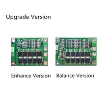 3S 40A  11.1V 12.6V 18650 lithium battery protection Board for drill current Standard/Enhance/Balance