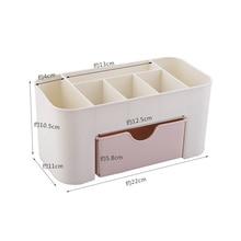 Multi-functional Plastic Makeup Box (3 colors)