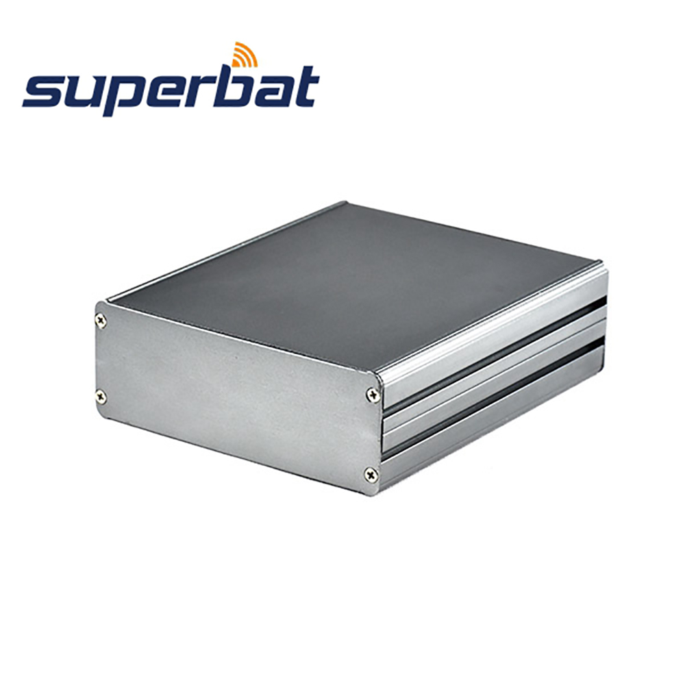 Superbat Customizing Split Body Aluminum Box PCB Enclosure Case Project Electronic DIY- 140*122*45mm(L*W*H)