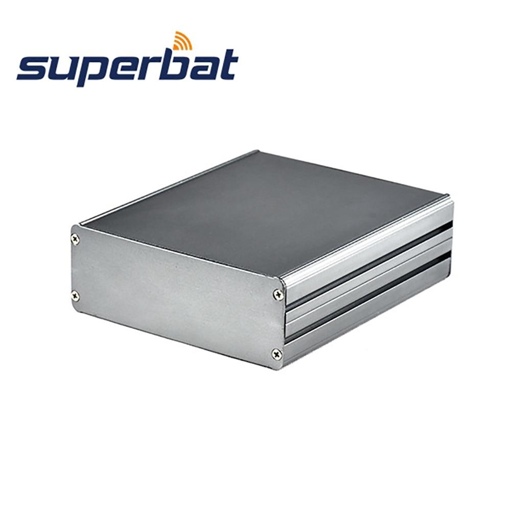 Superbat Customizing Split Body Aluminum Box PCB Enclosure Case Project Electronic DIY- 140*122*45mm(L*W*H)