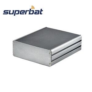 Image 1 - Superbat Tùy Biến Chia Cơ Thể Hộp Nhôm PCB Kèm Ốp Lưng Dự Án Điện Tử DIY  140*122*45Mm (L * W * H)