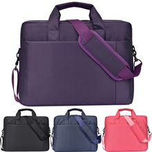 12 14 15 17 Inch big size Waterproof Nylon Computer Laptop Solid Notebook Tablet Bag Bags Case Messenger Shoulder for Men Women
