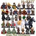 Bloques de construcción de Uruk Hai Hobbit Aragorn Rey Theoden Wraith El Señor de los anillos diy modelos de figuras ladrillos niños diy juguetes caballo