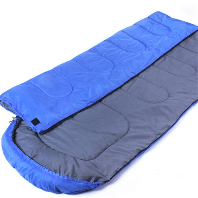 Multifuntion Outdoor Camping Thermal Sleeping Bag Winter Envelope Hooded Bags Travel Thick Warm Sleep 3 Colors Q027 In From