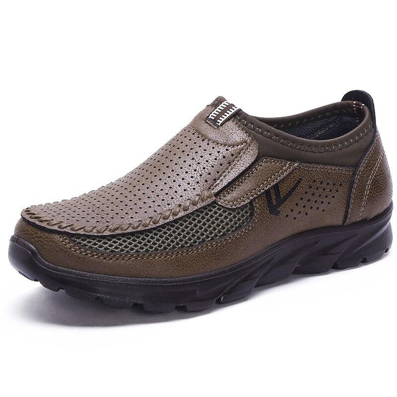 HTB1sfJpPYrpK1RjSZTEq6AWAVXaR Luxury Brand Men Casual Shoes Lightweight Breathable Sneakers Male Walking Shoes Fashion Mesh Zapatillas Footwear Big Szie 38-48
