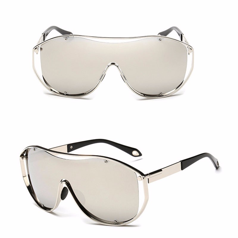 Roupai 2016 Oversize Sunglasses Brand Designer Men High Quality Party Sun Glasses With Pouch Metal Frame Super Wide Lens 18047 (12)