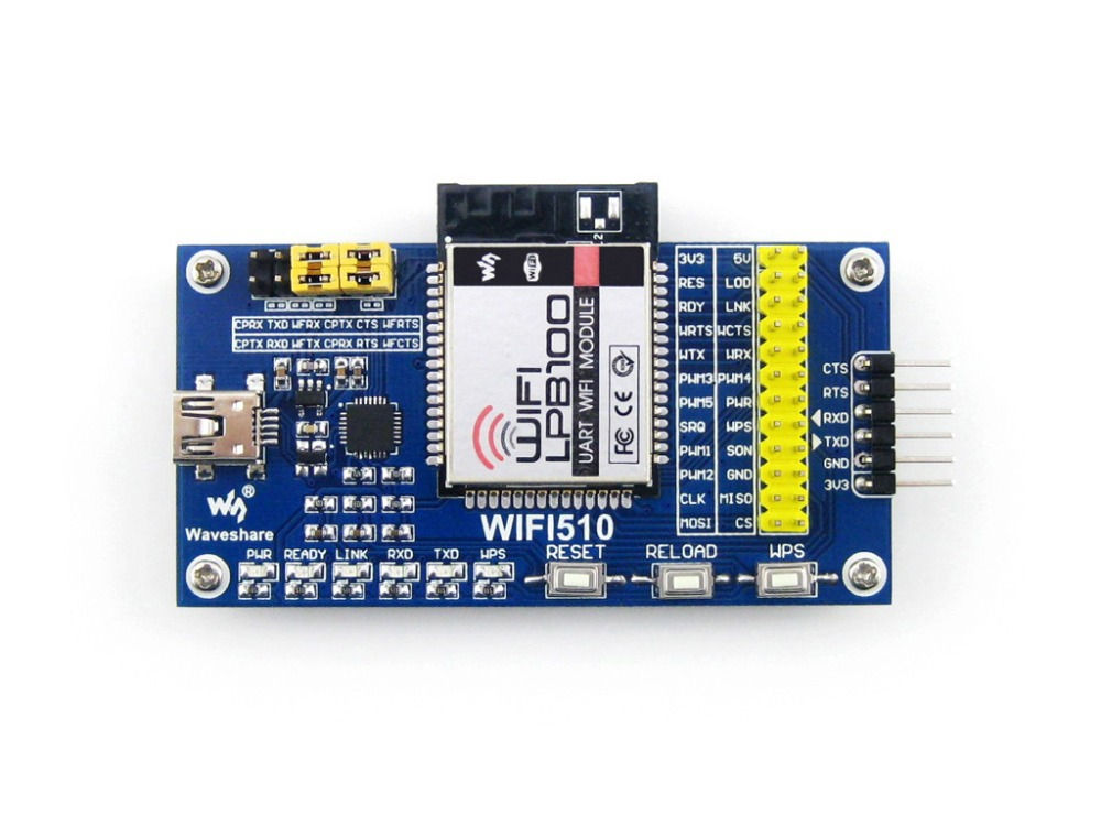 module WIFI-LPB100-A Eval Kit # LPB100 WiFi Module Evaluation Kit PCB Antenna Up to 5 TCP Client Connections Free Shipping performance evaluation of a vanet in a realistic scenario