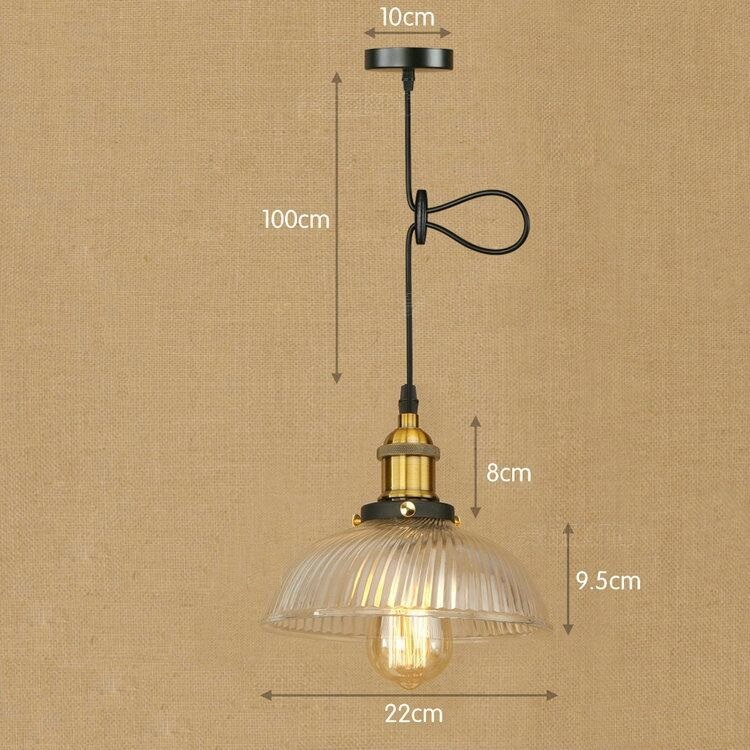 IWHD Retro Lights LED Pendant Light Fixtures Glass Vintage Lamp American Style Loft Industrial Lighting Pendant Lights Lamparas iwhd vintage hanging lamp led style loft vintage industrial lighting pendant lights creative kitchen retro light fixtures