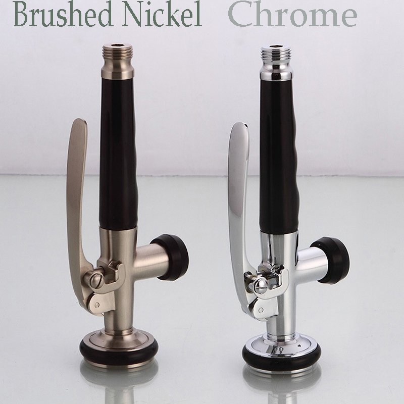 Free shipping best quality brushed nickel chrome finish for Chrome or brushed nickel kitchen faucet