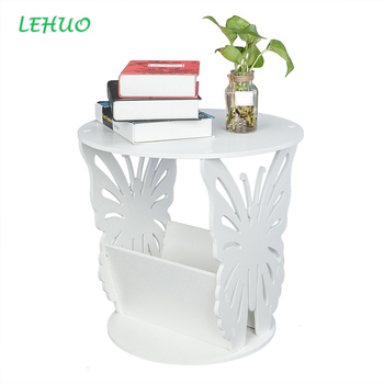 PVC Board Butterfly Coffee Table Minimalist Living room floor-standing telephone stand Sofa Side Table Side Tables Furniture coffee table