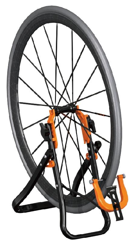 Vélo vélo roue jante truing stand accueil mécanicien roue Truing support super B TB-PF25-pour 16-29 pouces roue vélo réparation outil