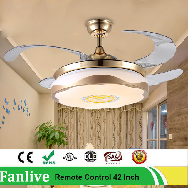 Fanlive led attract fan lamp 3color change light invisible fans fanlive led attract fan lamp 3color change light invisible fans european concise night light remote aloadofball Gallery
