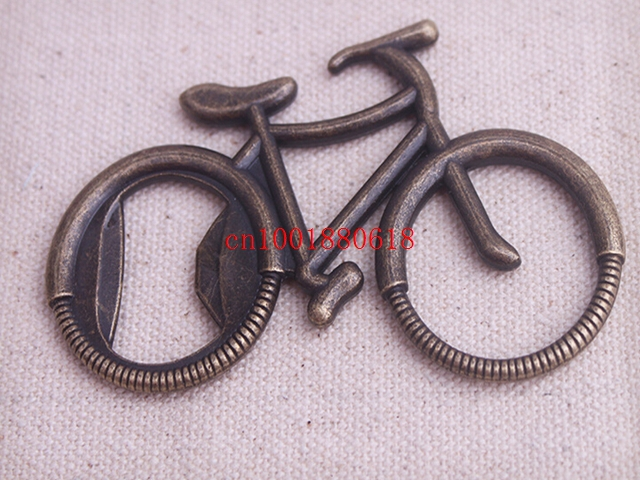 Fedex DHL Free Shipping Bike Bicycle Shaped Wine Beer Bottle Opener For Wedding favor party guest