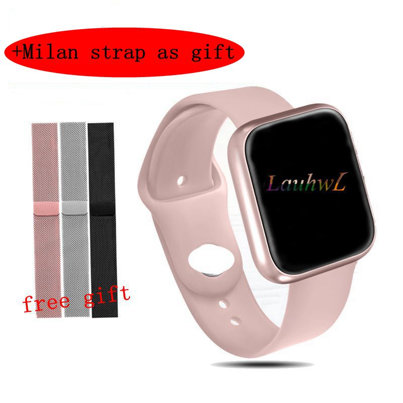P70 Smart Watch With Blood Pressure Heart Rate Monitor IP68 Waterproof Fitness Tracker Smartwatch For Samsung Android Huawei IOS