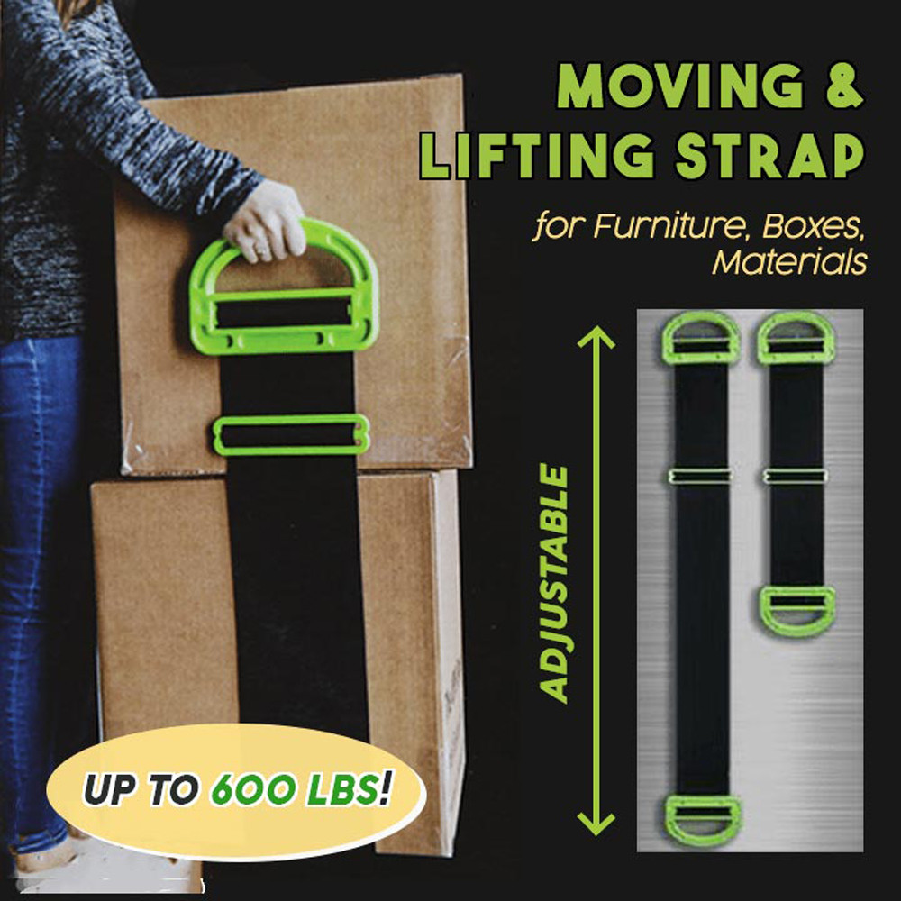 Responsible Rope Handling Tools Adjustable Moving And Lifting Straps For Furniture Boxes Mattress D90503