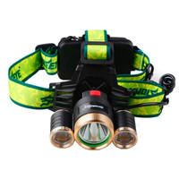 Flashlight For Bicycle 4Modes 9000Lm 3X XML T6 2R5 LED Headlamp Head Light Torch USB 18650