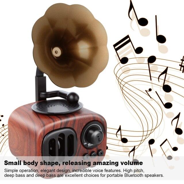 Trumpet Style Bluetooth Speaker 2