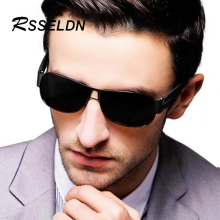 RSSELDN New Polarized Sunglasses Men Car Driving Glasses Anti-glare Driver Sun Glasses Men Okly Goggles Eyewear Male Accessories