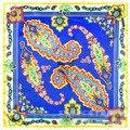 60 cm * 60 cm nuevos grandes flores de marañón lado del apellido Bohemio plazoleta bufandas bufandas