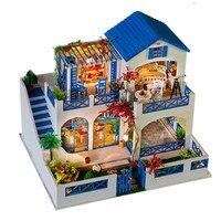 Iie Create K 006 Meteor Garden DIY Dollhouse With Music Light Cover Miniature Model Doll House
