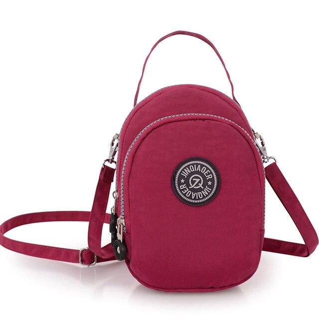 JINQIAOER New Women Messenger Shoulder Bags Wmen s Nylon Bag Tote Bag  Ladies Bolsa Feminina Mini Waterproof Travel Bag WQ144 85c58da0a237d